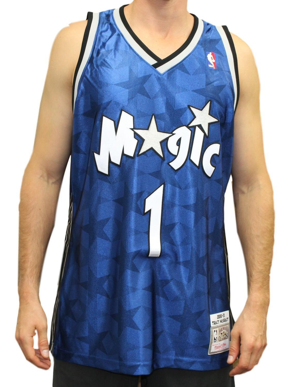 Tracy McGrady Orlando Magic Mitchell & Ness Authentic 2000ブルーNBAジャージ