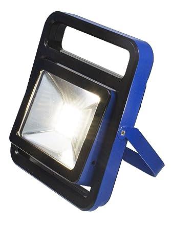 As   Schwabe Chip LED Strahler 20 W Mit Akku, IP 54 Baustrahler