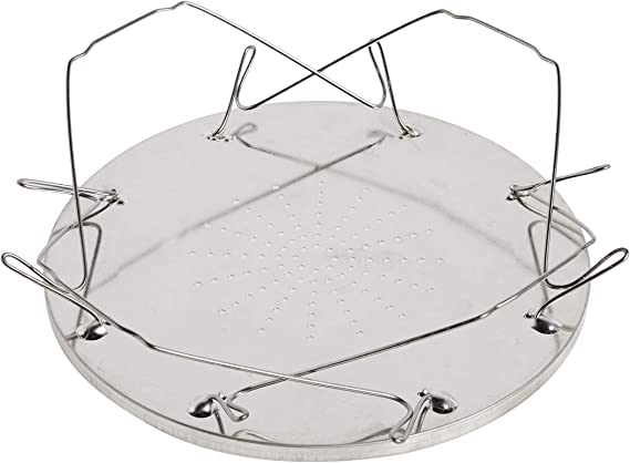 """Coghlan's 504D Camp Stove Toaster, 9"""", Silver"""