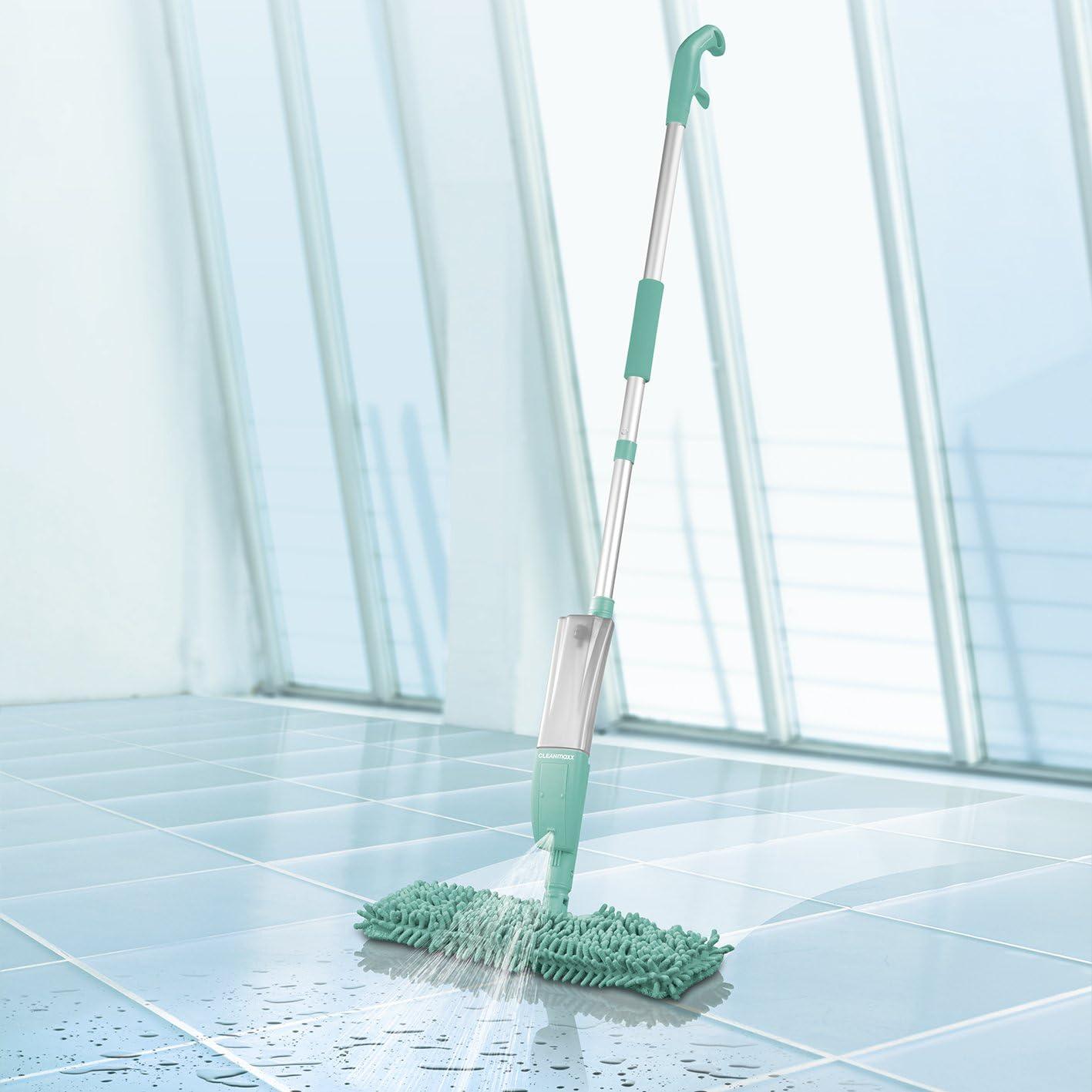 CLEANmaxx 2 en 1 Serpilli/ère//Spray avec Fonction R/éversible Turquoise
