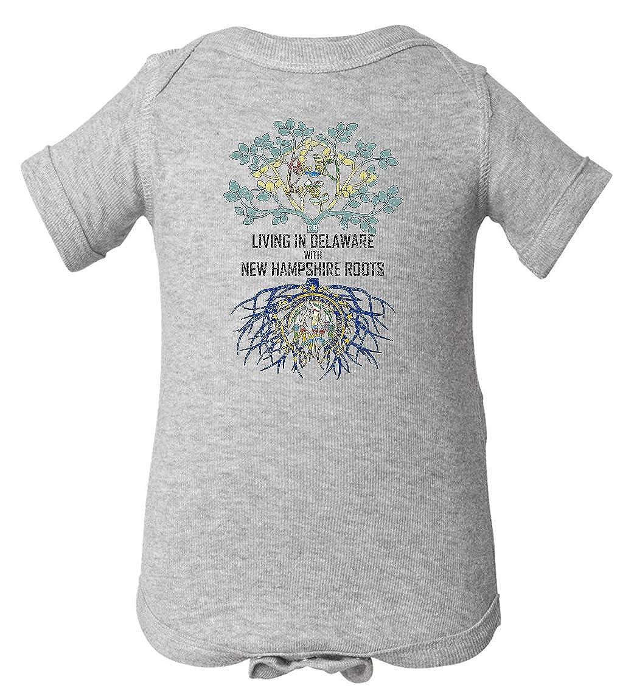 Tenacitee Babys Living in Delaware Hampshire Roots Shirt