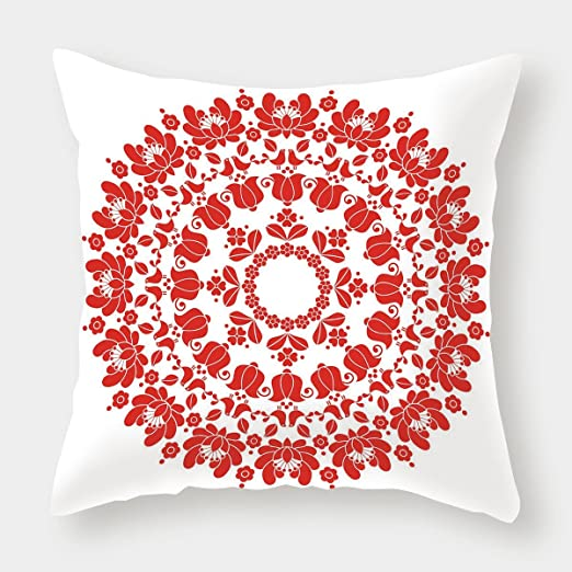 iPrint Funda de cojín de lino y algodón, decoración árabe ...