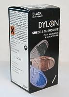 Dylon - Teinture Pour Chaussure Daim Et Nubuck Couleur Noir