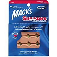 Protetor Auricular Mack's Snoozers 22db 6 Pares Cor:bege