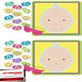 Pin The Pacifier Baby Shower Game (2 Pack)
