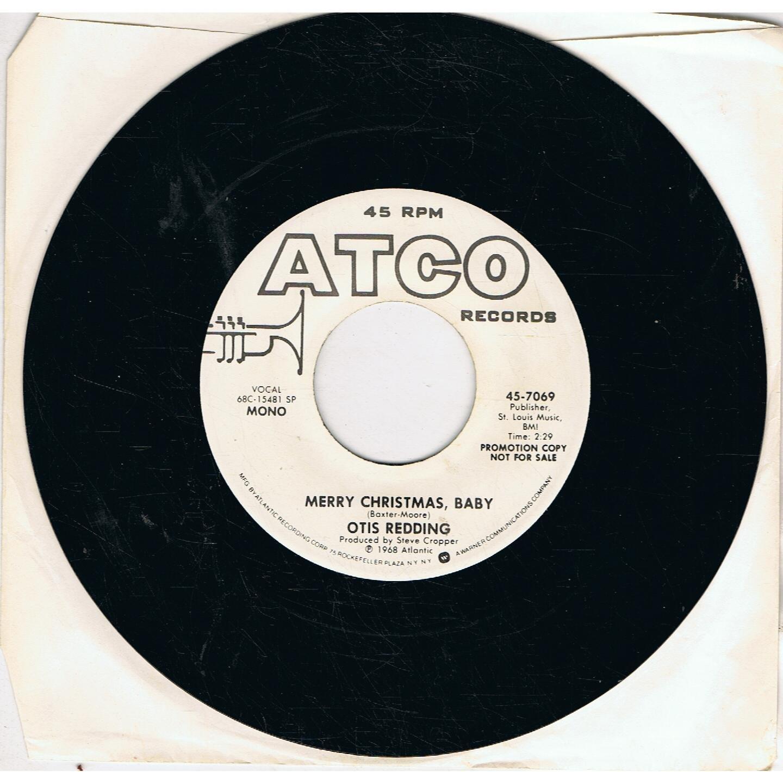 white christmas merry christmas baby 7 vinyl amazoncouk music - Merry Christmas Baby Otis Redding