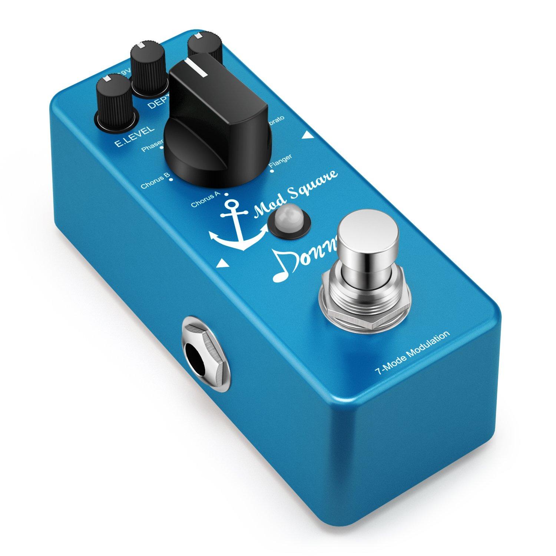 Donner Guitar Modulation Effect Pedal Digital Mod Square 7 Mode by Donner