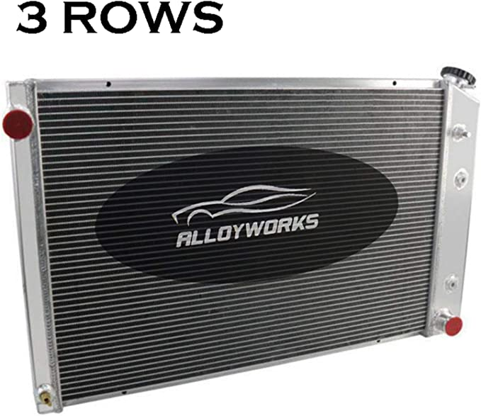 """4 ROW Radiator/&Shroud+2x12/""""Fan For 73-91 Chevy C//K Series 10 20 Truck,Blazer GMC"""