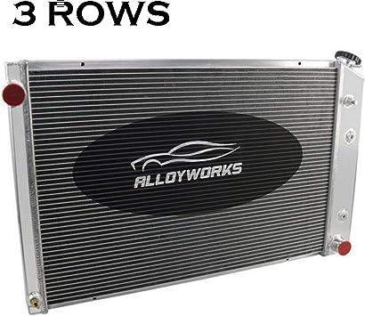 4 Row Core Aluminum Radiator For Chevy C//K Series C10//C20//K10 73-80 74 75 76 79
