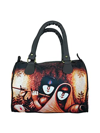 f0d57dd161 Chelsey Chelsey Abstract faces designs Speedy Stylish handbags for women  and girls  Amazon.in  Clothing   Accessories