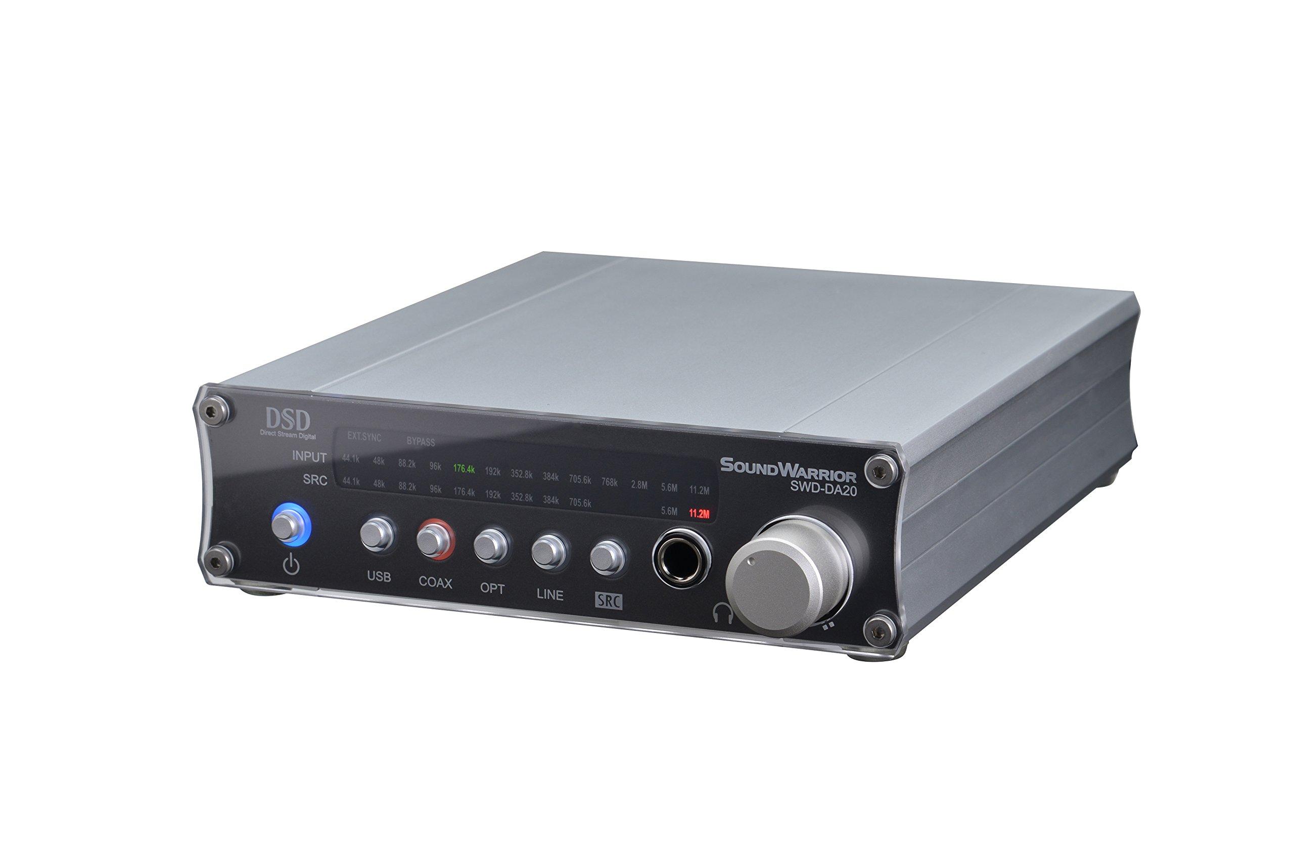 SOUND WARRIOR High performanceUSB D/Aconverter SWD-DA20