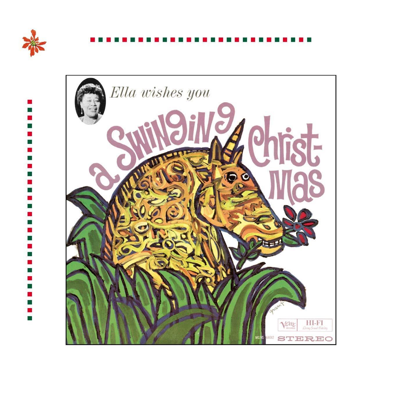 Ella Wishes You A Swinging Christmas.Ella Wishes You A Swinging Christmas