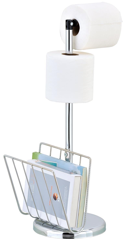 Pristine Portarrollos de papel higi/énico cromado 2 x Cromo dise/ño elegante y pr/áctico