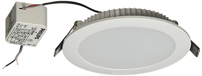 los angeles 43d6a 880a6 Philips AstraPrime 10-Watt Recessed LED Panel Ceiling Light (Warm White,  Round)