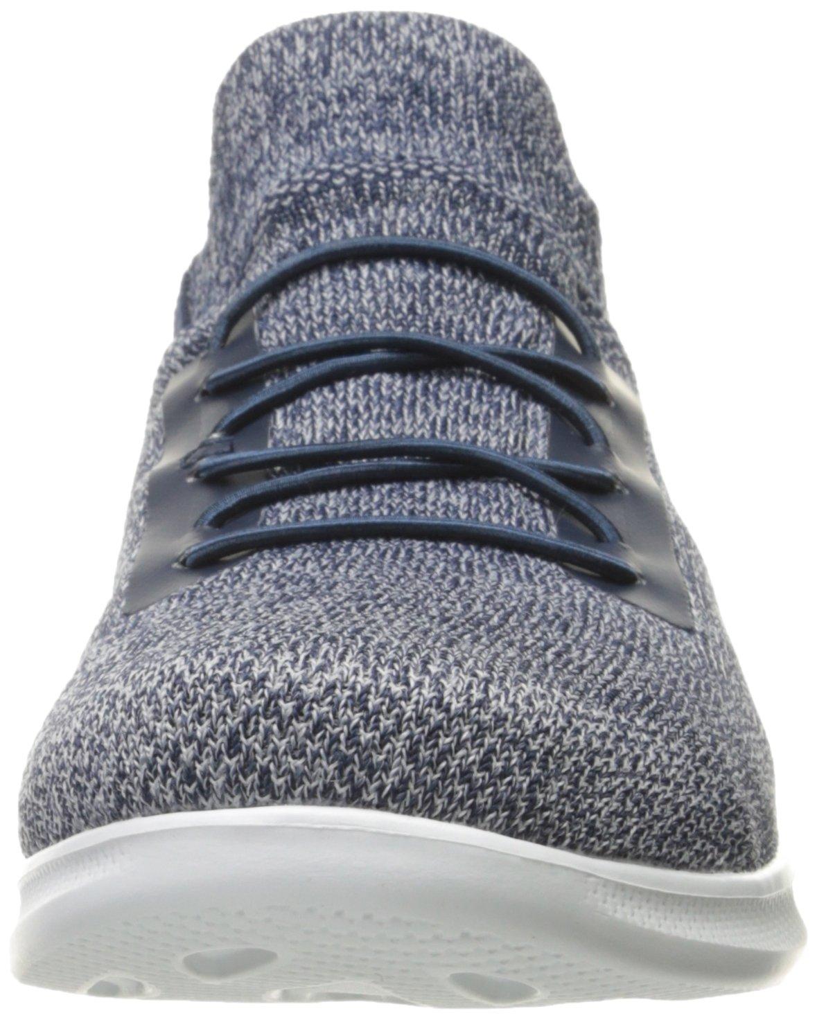 Skechers Damen Go Step Lite Sneakers im Slip-on Stil Zwischensohle Zum Hineinschlüpfen mit Einer Zwischensohle Stil aus GOGA Max™ Technology 5GEN® Blau (Navy Weiß) 4c0e12