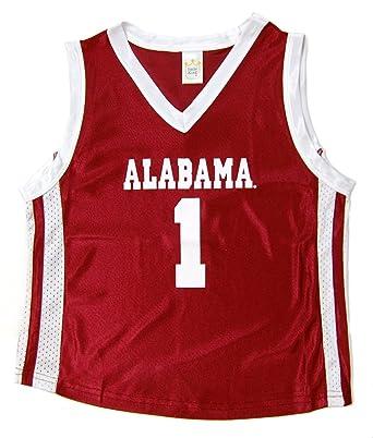 fac182705 Little King NCAA Alabama Crimson Tide Infant Toddler Basketball Jersey (12  Months)