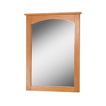 Foremost WROM2128 Worthington 21 Inch Oak Bathroom Mirror