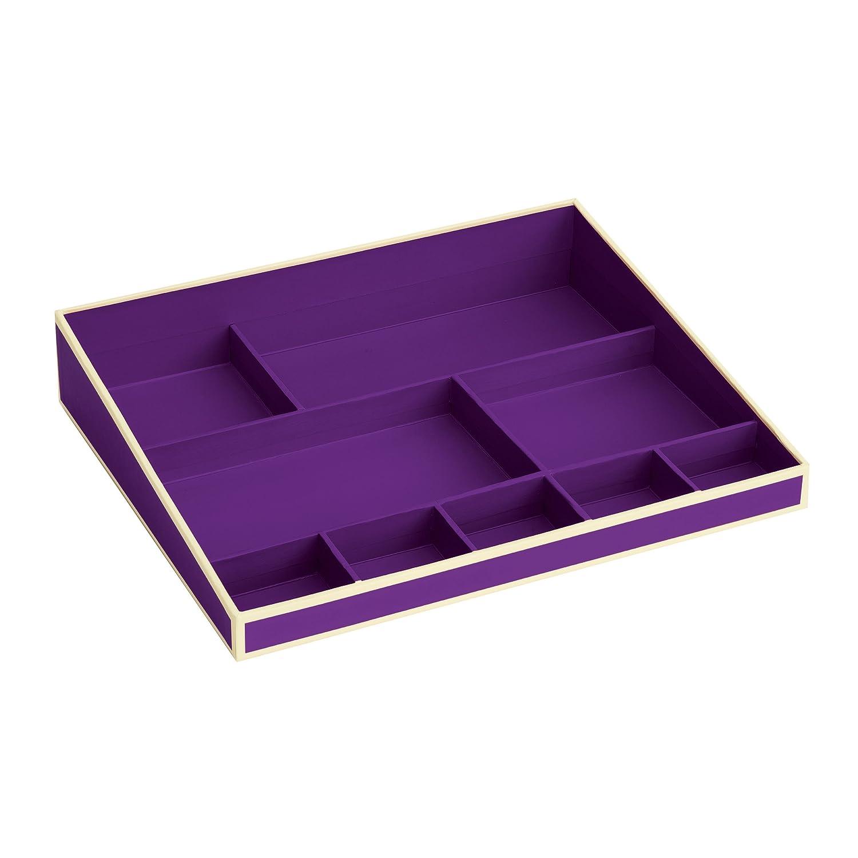 | Stiftehalter//Stiftablage| Schreibtisch-K/öcher im Format 9 x 9 x 9 cm Stiftek/öcher mit 4 Unterteilungen ciel 352848 hell-blau Semikolon