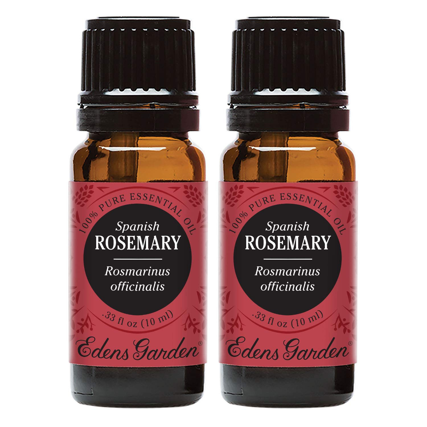 Edens Garden Rosemary Spanish Essential Oil, 100% Pure Therapeutic Grade (Aromatherapy Oils- Cold Flu & Inflammation), 10 ml Value Pack