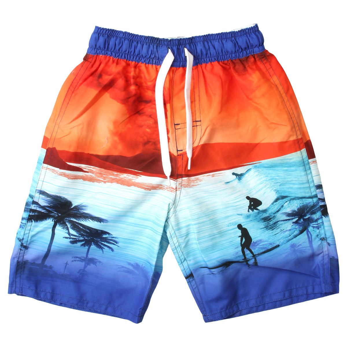 Wes and Willy Volcano Swim Trunk