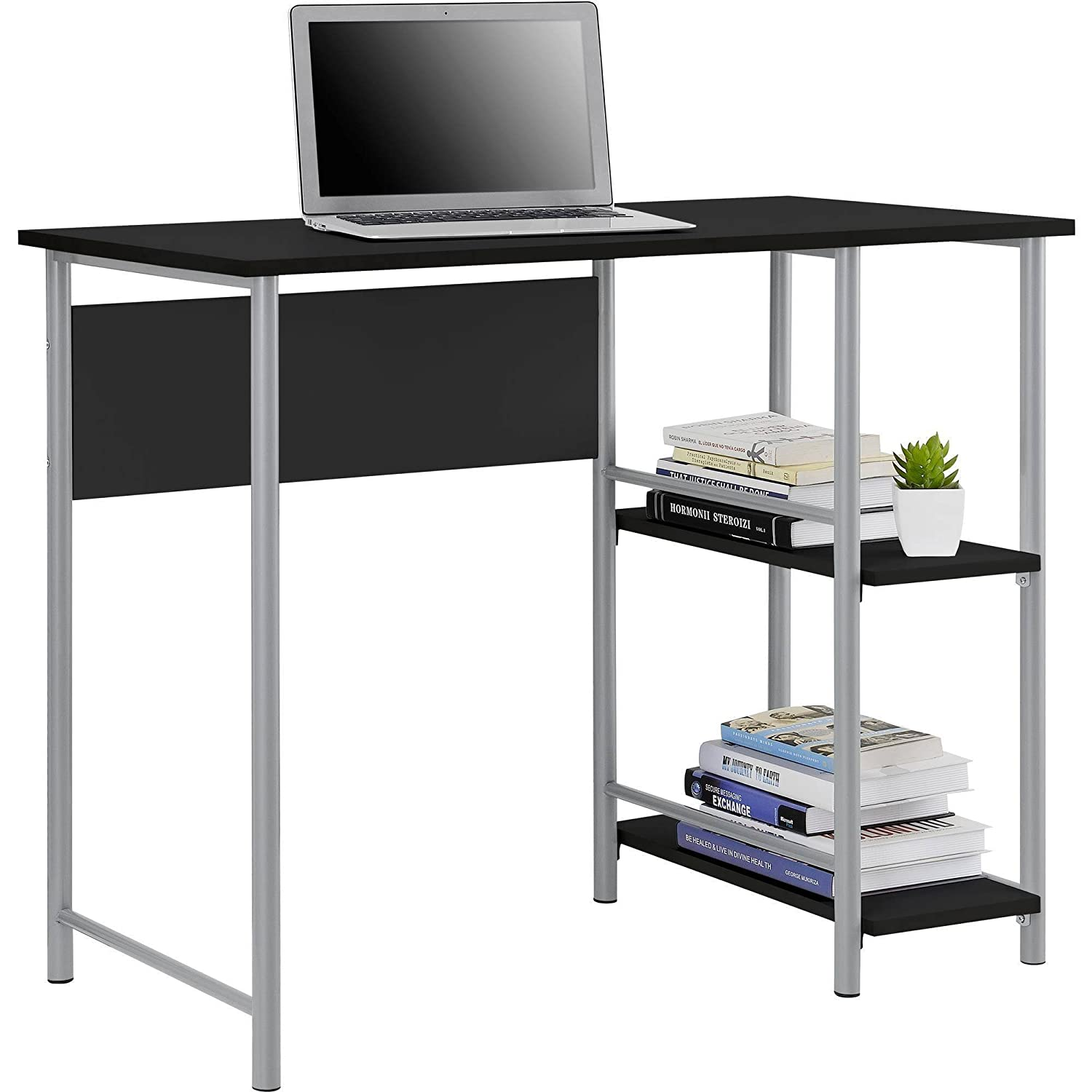 Student Desk In Simplistic Design With Large Workspace