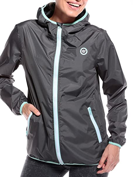 WOLDO Athletic Regenjacke Damen Windbreaker Outdoor  im Test