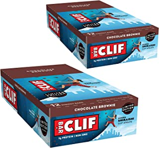 product image for Clif Bar Energy Bar, Chocolate Brownie, 2.4-Ounce Bars, 12 Count (Pack of 2)