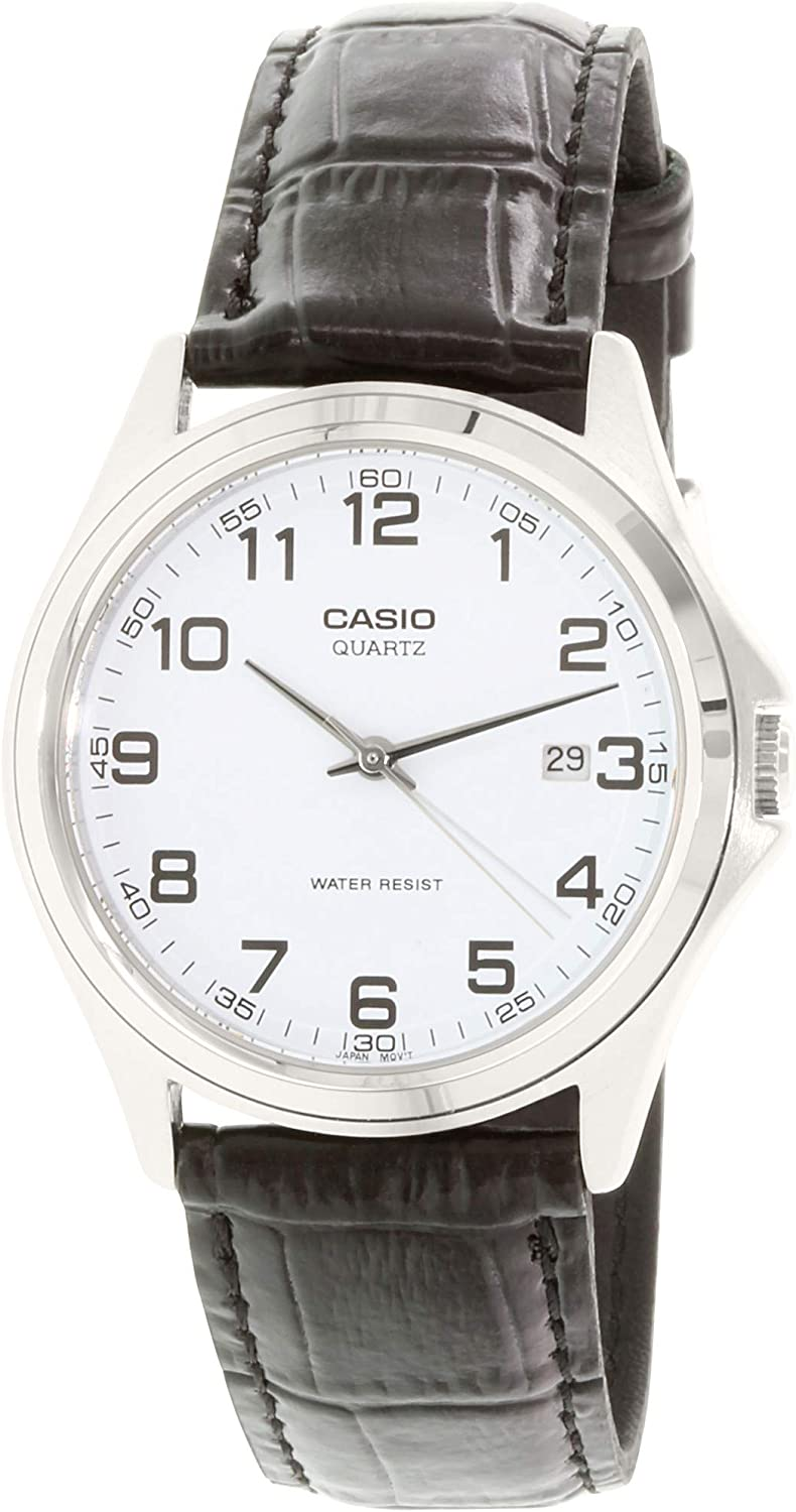 Casio MTP1183E Analog Water Resistant Watch with Date