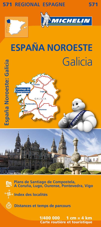 Espagna noroeste : galicia (Régional Espagne): Amazon.es: Michelin: Libros en idiomas extranjeros