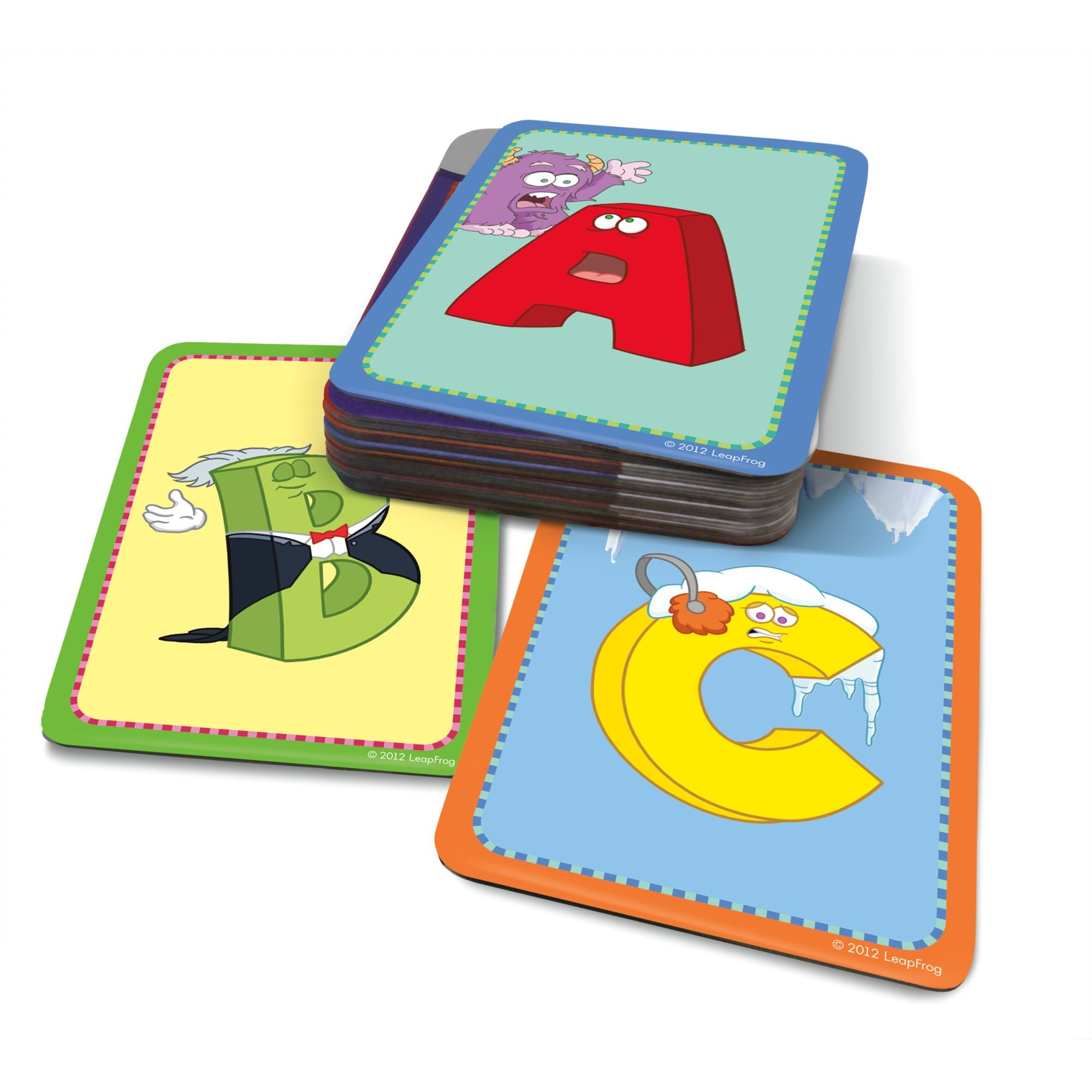 LeapFrog LeapReader Junior Interactive Letter Factory Flash Cards (works with Tag Junior) by LeapFrog