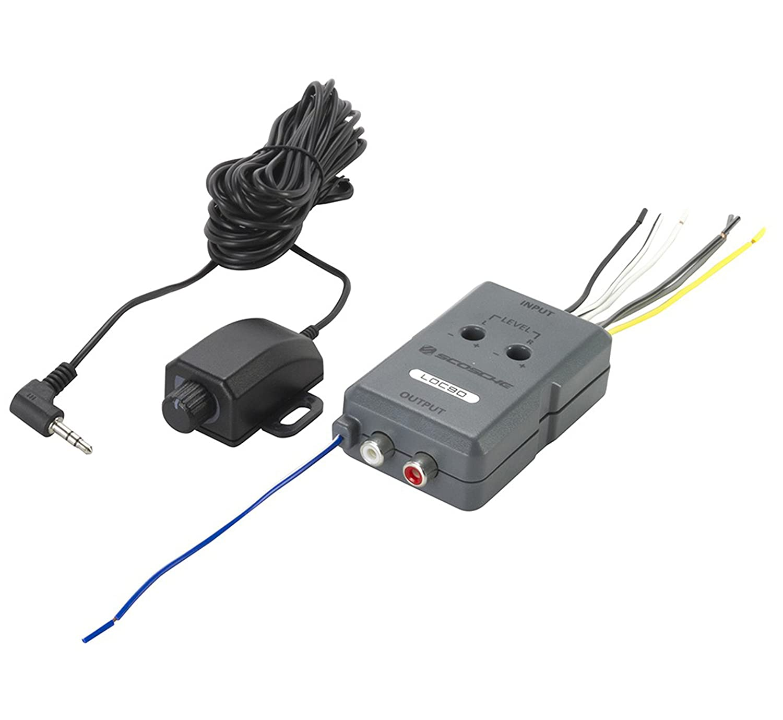 amazon com scosche loc90 line output converter car electronics