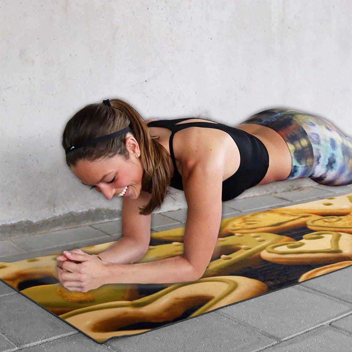 Amazon.com: Alfombrilla de yoga de PVC de alta calidad para ...