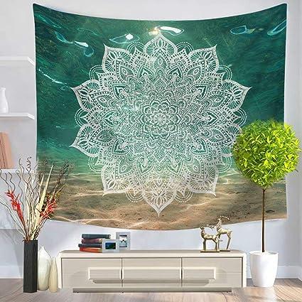 Wshine Chakra Tapestry Mandala Zen Meditation Hippie Decorations Wall Hanging For Bedroom Living Room Purple Blue Green Tapestries