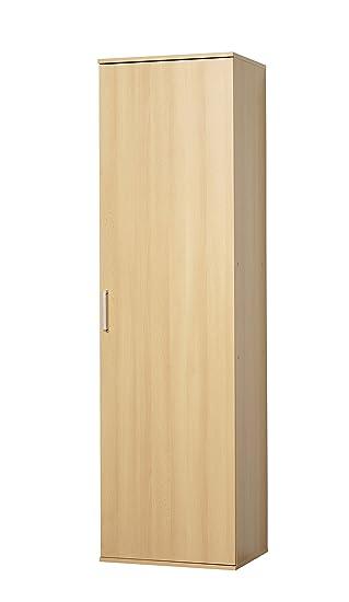 Tür buche  WILMES 40148-23 0 23 Schrank Ronny, 1 Tür, Buche Dekor Melamin, 50 ...