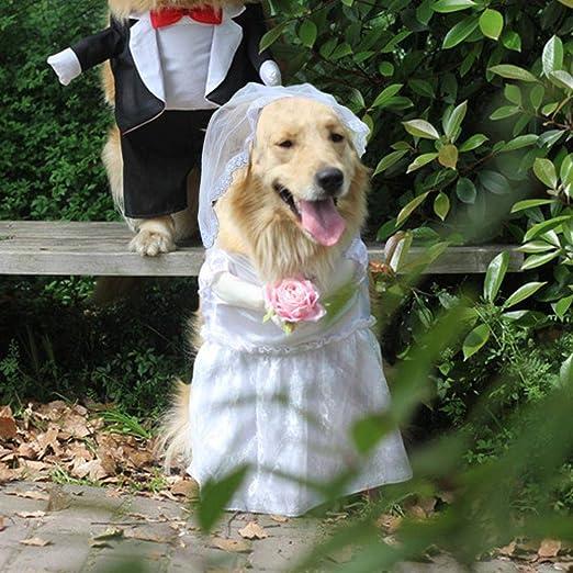 Traje de esmoquin para perro Traje de mascota Vestido de ...