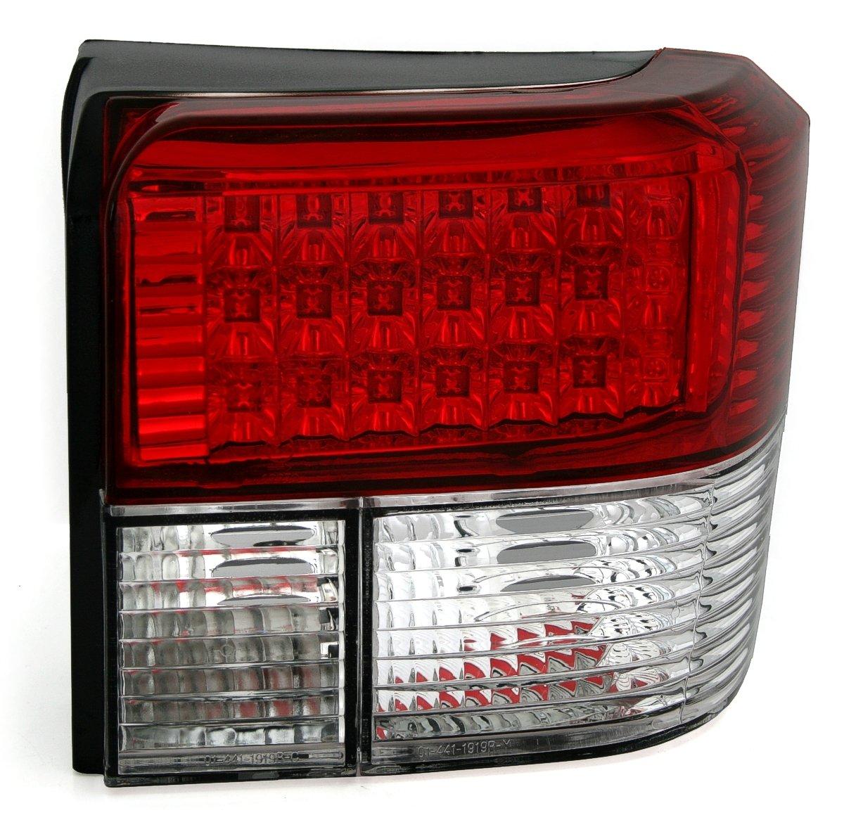 KG Kit de 960421/Feux arri/ère LED Verre Transparent Rouge//Blanc AD Tuning GmbH /& Co
