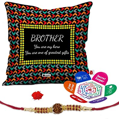 Buy Indi ts Rakhi Gifts for Brother Set of My Hero e of