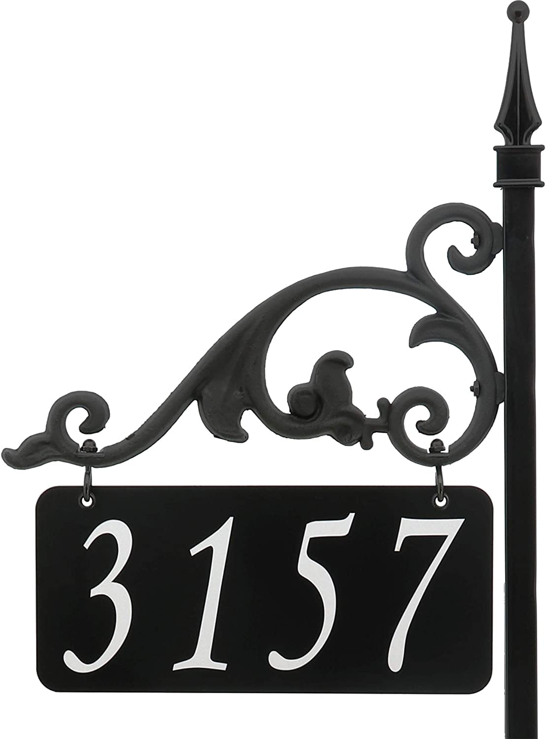 USA Handcrafted Annandale Double Sided Reflective Address Sign 30