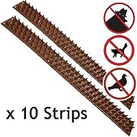 Pinchos de seguridad Spares2go anti trepada para pared