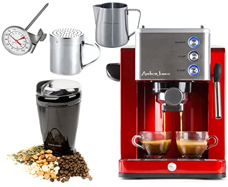 Andrew James Ultimate Coffee Package Including Espresso