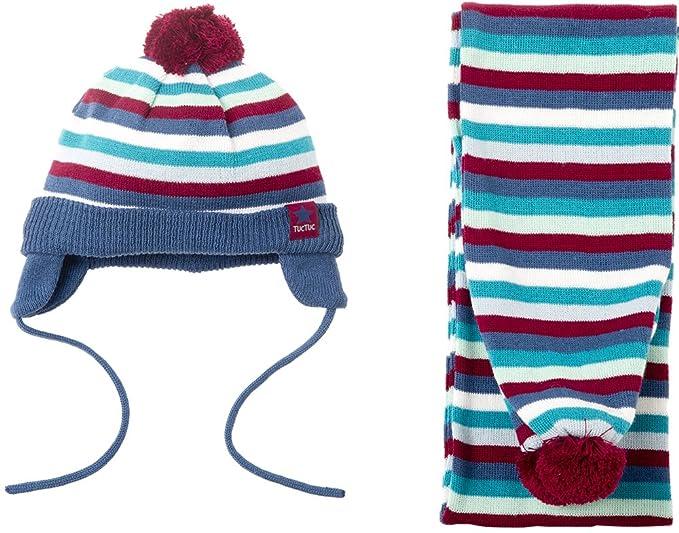 Tuc Tuc 38486, Set de bufanda, gorro y guantes para Niños, Multicolor One