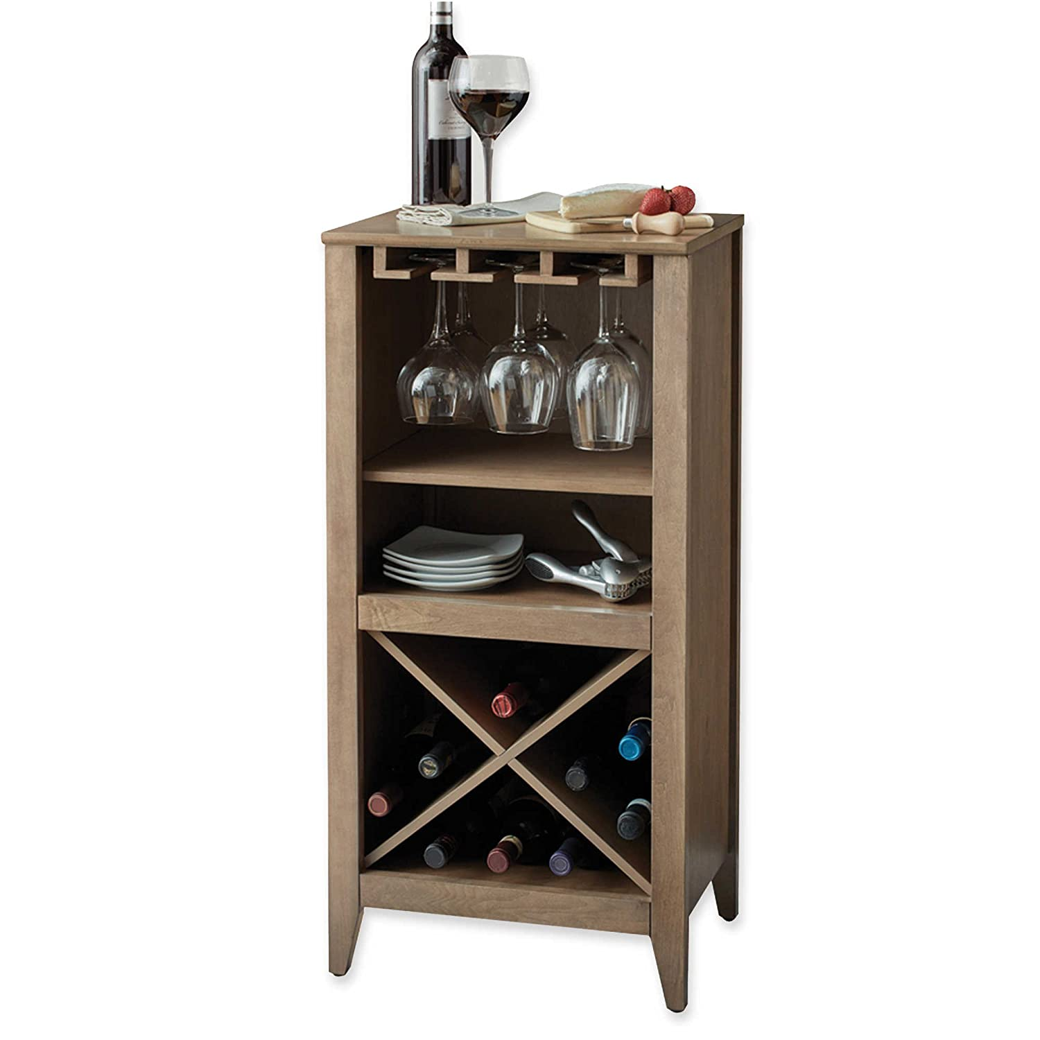 Long Valley No Tools Wine Bar (Gray) Generic