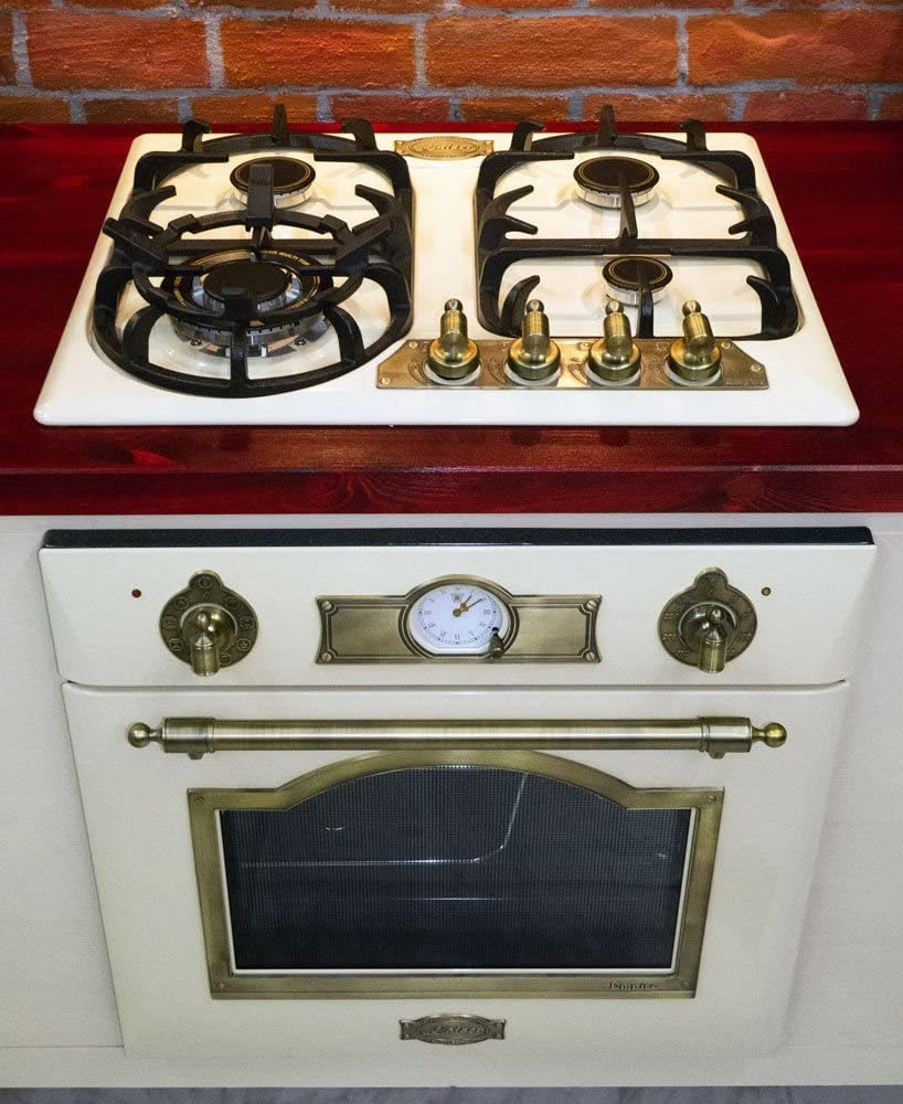 fabricante de lujo 60 cm kg de cocina de gas 6325 Em horno 67 litros horno de gas empotrado Eg 6345 Em 2 funciones Kaiser Juego de cocina de gas Autark Empire