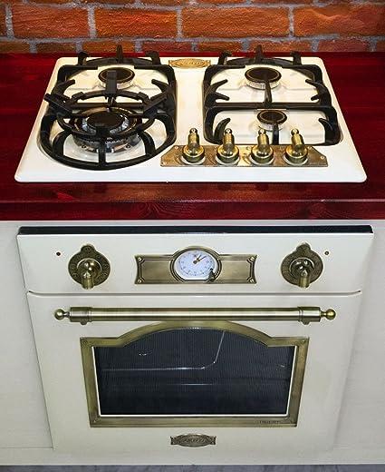 Universel nouveau monde cuisinière four et plaque de cuisson contrôle BLANC Bouton /& Adaptateur x 6