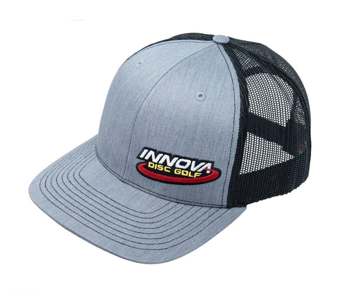 Innova Disc GolfロゴスナップバックTruckerメッシュディスクゴルフ帽子 B07DF54F72 Gray w/ Black Gray w/ Black