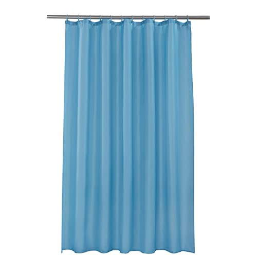 Spectrum 180 X Cm Shower Curtain And Rings Set Teal