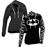 DC Comics Reversible Batman Juniors Zip up Hoody