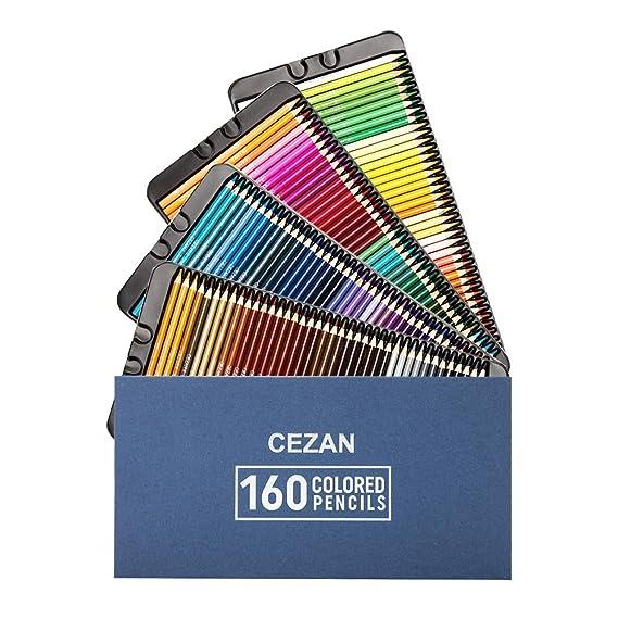 Amazon.com: Juego de 160 lápices de colores – lápices de ...