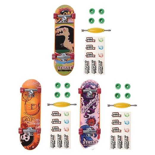 SimpleLife Mini Juguete de Skate, Soporte de Aleación Dedo ...