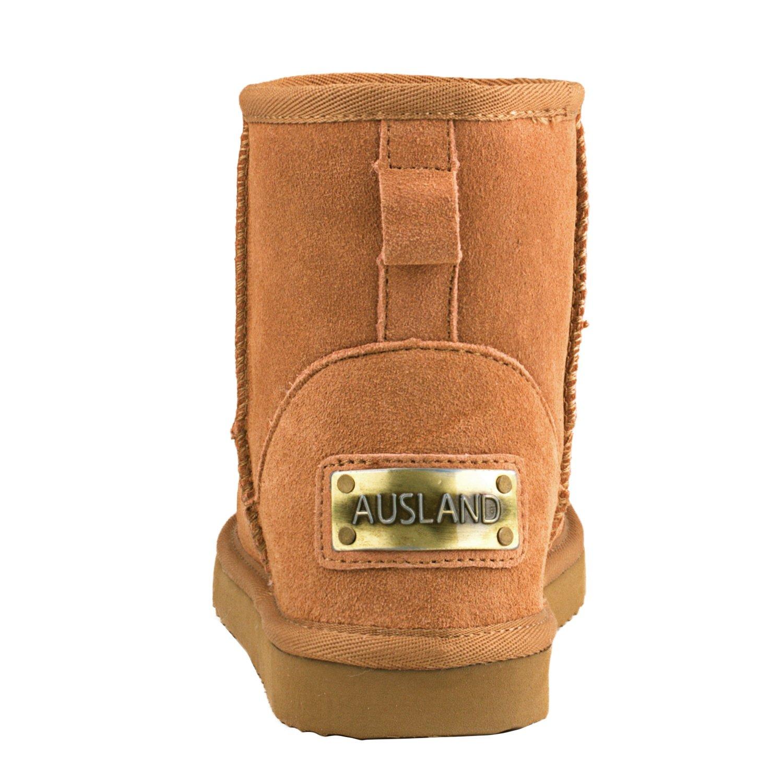 Botas de Nieve de Piel de ca/ña Baja Impermeable Antideslizante para Mujer D5154 Shenduo Zapatos Invierno cl/ásicos